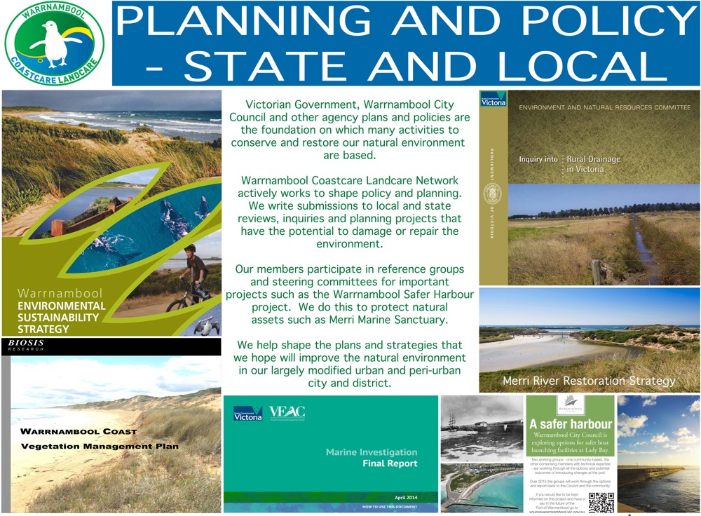 Policy & Planning warrnambool coastcare